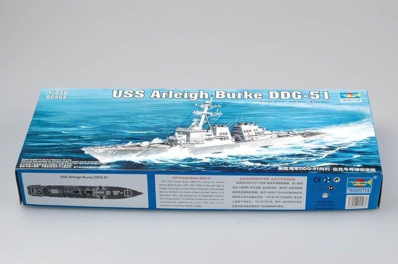 Trumpeter 1/350 USS Arleigh Burke DDG-51 # 04523