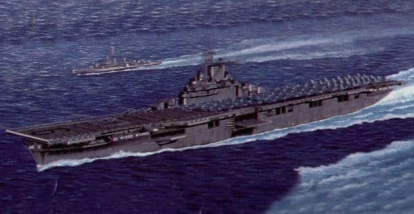 Trumpeter 1/350 USS Essex CV-9 Aircraft Carrier # 05602