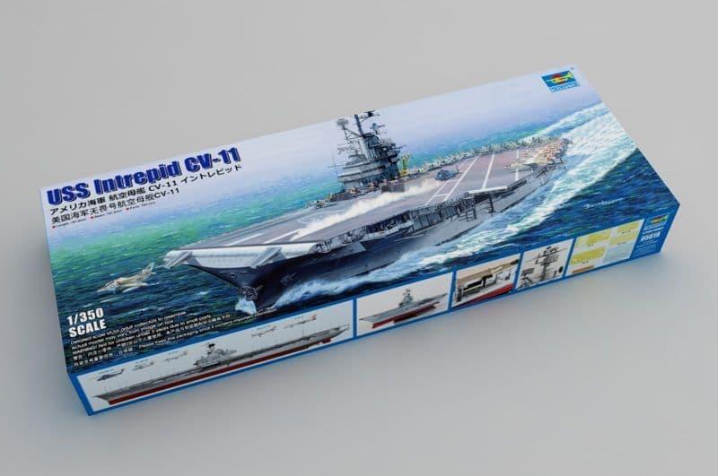Trumpeter 1/350 USS Intrepid CV-11 # 05618