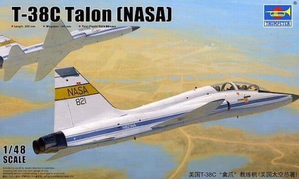 Trumpeter 1/48 Northrop T-38C Talon (NASA) # 02878