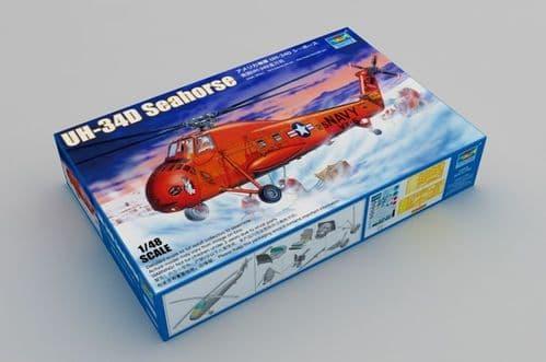 Trumpeter 1/48 Sikorsky UH-34D Seahorse # 02886