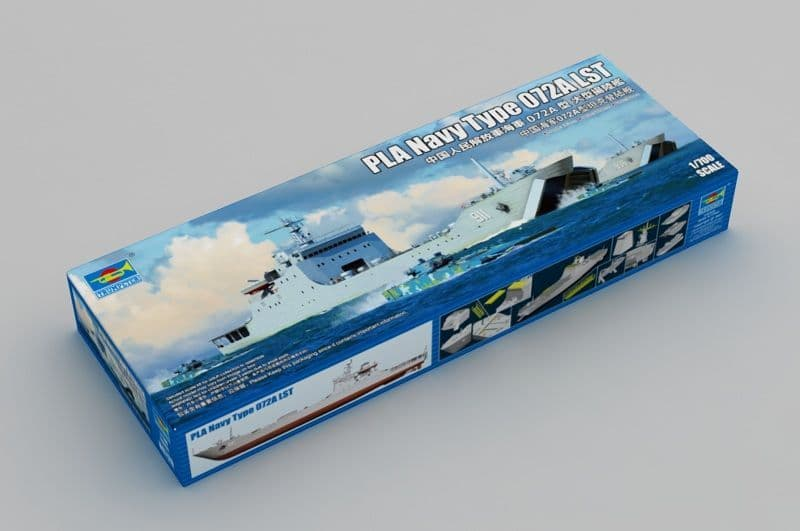 Trumpeter 1/700 PLA Navy Type 072A LST # 06728