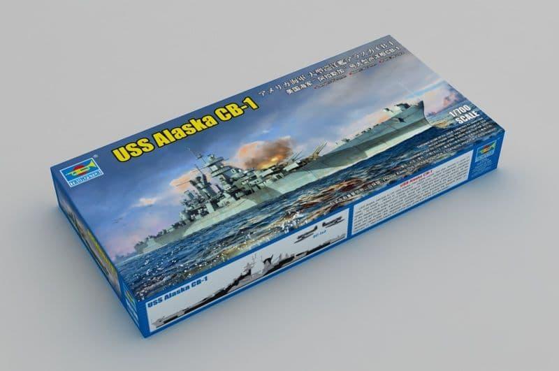 Trumpeter 1/700 USS Alaska CB-1 # 06738