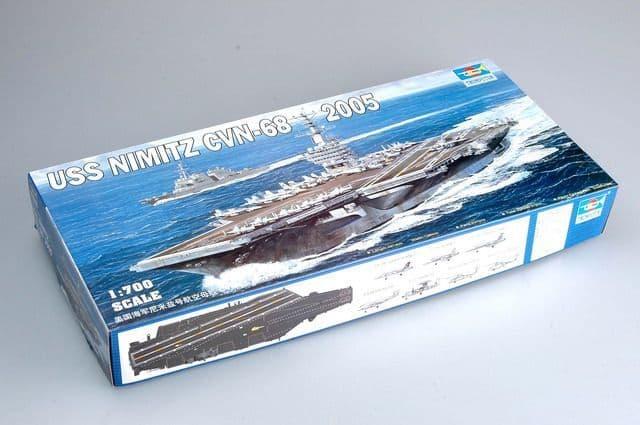 Trumpeter 1/700 USS Nimitz CVN-68 2005 # 05739