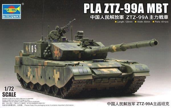 Trumpeter 1/72 PLA ZTZ-99A MBT # 07171