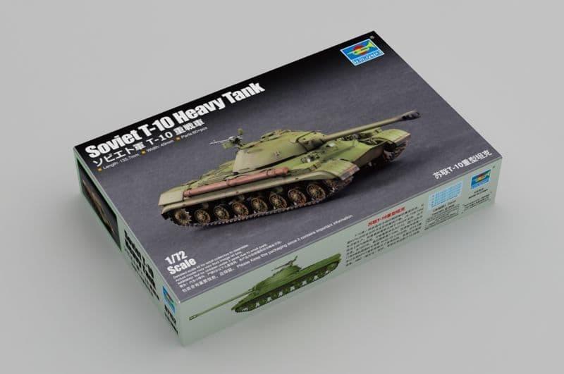 Trumpeter 1/72 Soviet T-10 Heavy Tank # 07152