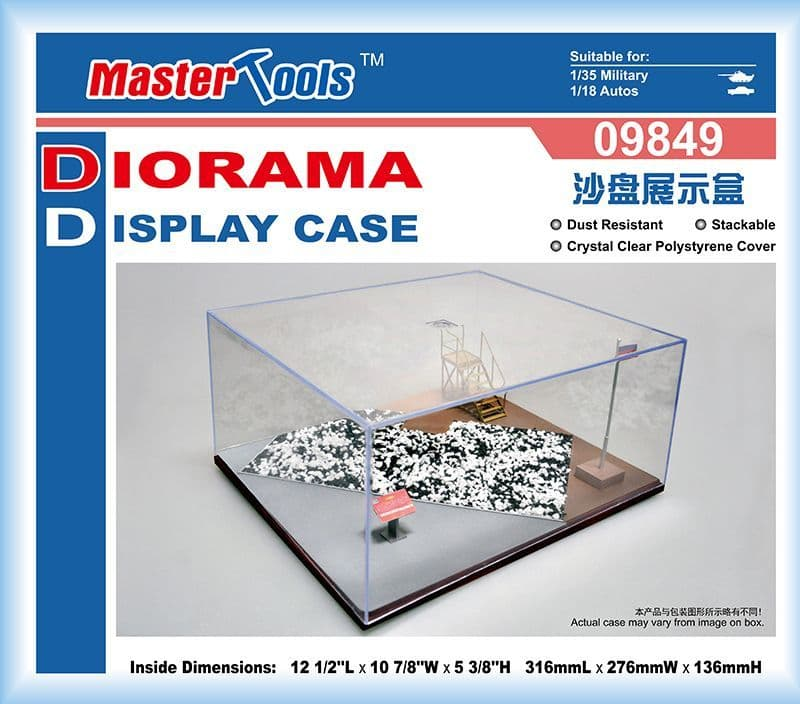 Trumpeter - Diorama Display Case (316 x 276 x 136mm) # 09849
