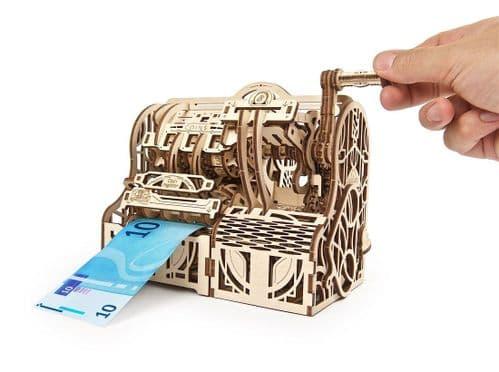 UGears Mechanical Model - Cash Register # 70136