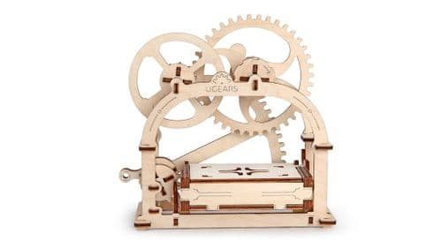 UGears Mechanical Model - Etui Wooden Box # 70001
