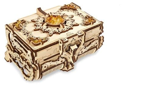 UGears Mechanical Model - Wooden Amber Box # 70090