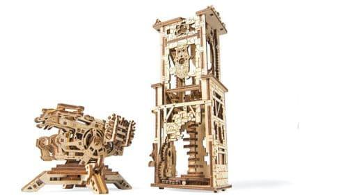 UGears Mechanical Model - Wooden Archballista-Tower # 70048