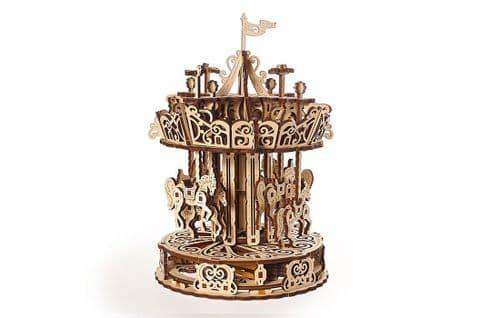 UGears Mechanical Model - Wooden Carousel # 70129