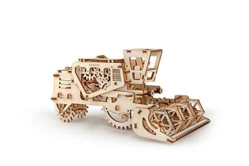 UGears Mechanical Model - Wooden Combine Harvester # 70010
