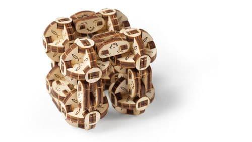 UGears Mechanical Model - Wooden Flexi-Cubus # 70049
