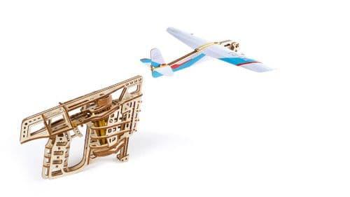 UGears Mechanical Model - Wooden Flight Starter # 70075