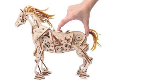 UGears Mechanical Model - Wooden Horse-Mechanoid # 70054