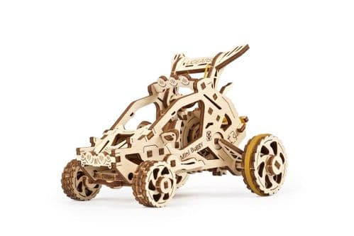 UGears Mechanical Model - Wooden Mini Buggy # 70142