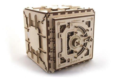 UGears Mechanical Model - Wooden Model Safe # 70011
