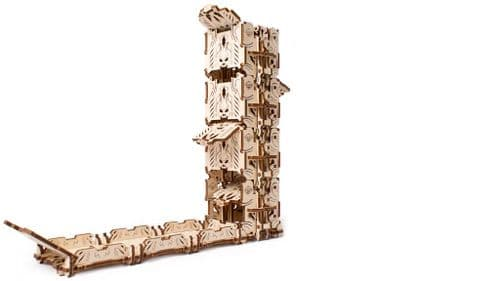 UGears Mechanical Model - Wooden Modular Dice Tower for Tabletop Games # 70069