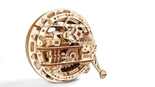UGears Mechanical Model - Wooden Monowheel # 70080