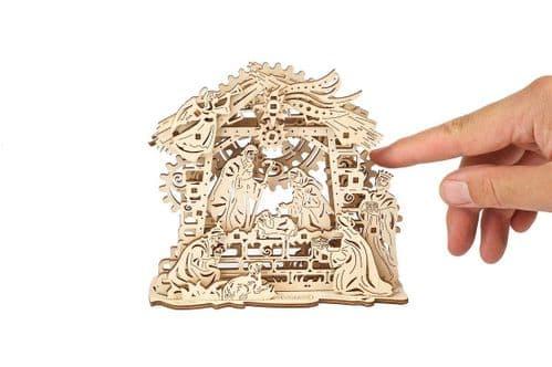 UGears Mechanical Model - Wooden Nativity Scene # 70141