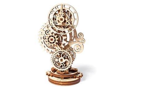UGears Mechanical Model - Wooden Steampunk Clock # 70093