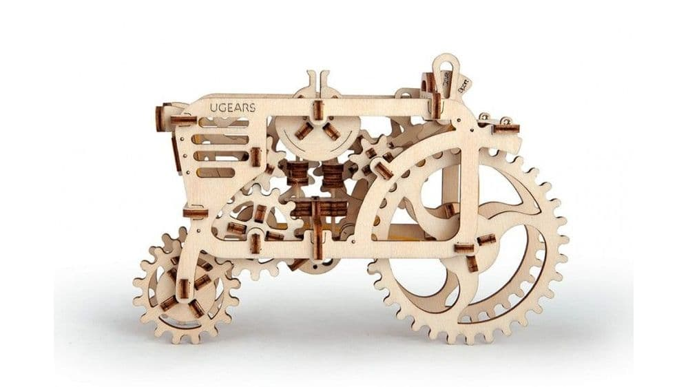 UGears Mechanical Model - Wooden Tractor # 70003