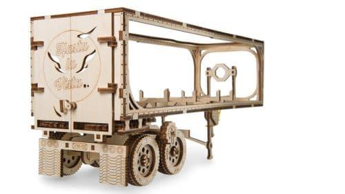 UGears Mechanical Model - Wooden Trailer for VM-03 Heavy Boy Truck # 70057