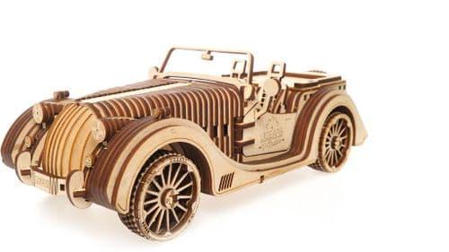 UGears Mechanical Model - Wooden VM-01 Roadster # 70052