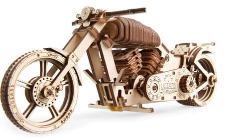 UGears Mechanical Model - Wooden VM-02 Bike # 70051