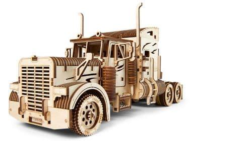 UGears Mechanical Model - Wooden VM-03 Heavy Boy Truck # 70056