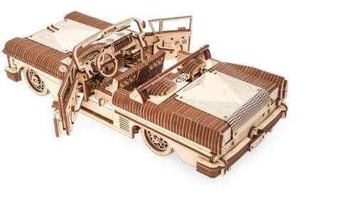 UGears Mechanical Model - Wooden VM-05 Dream Cabriolet # 70073