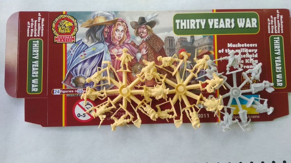 Ultima Ratio 1/72 Musketeers of the Military Household of the King of France (Revised Set)