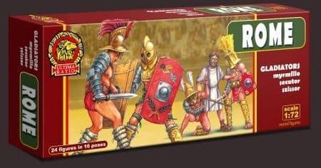 Ultima Ratio 1/72 Roman Gladiators # 7210