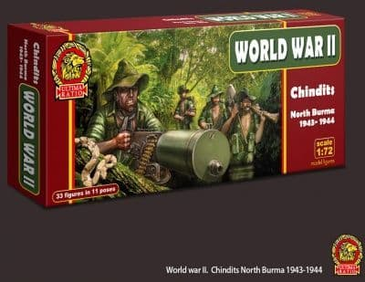 Ultima Ratio 1/72 WWII Chindits. North Burma 1943-1944 # 7206
