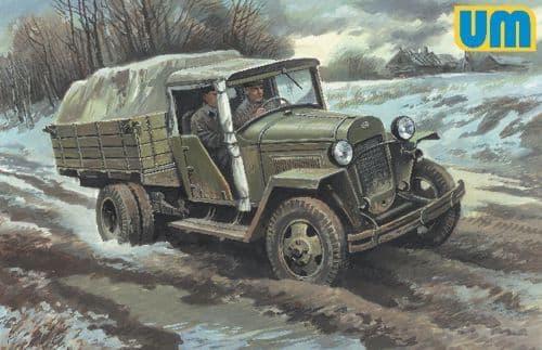 Unimodel 1/48 GAZ-MM War Soviet Truck # 512