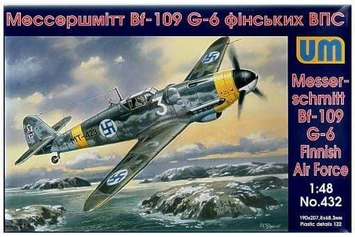 Unimodel 1/48 Messerschmitt Bf 109 G-6 Finnish # 432