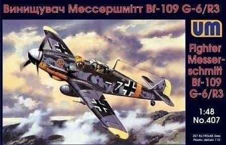 Unimodel 1/48 Messerschmitt Bf 109 G-6 / R-3 # 407
