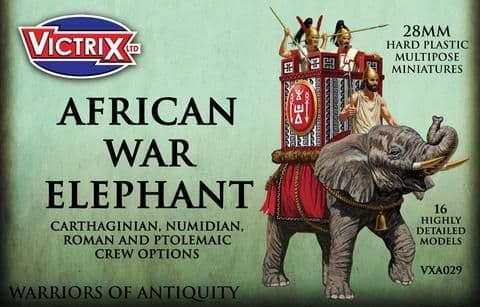 Victrix 28mm African War Elephant # VXA029
