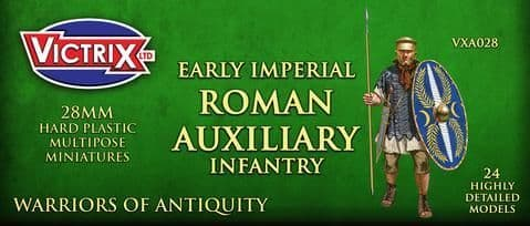 Victrix 28mm Early Imperial Roman Auxiliary Infantry # VXA028