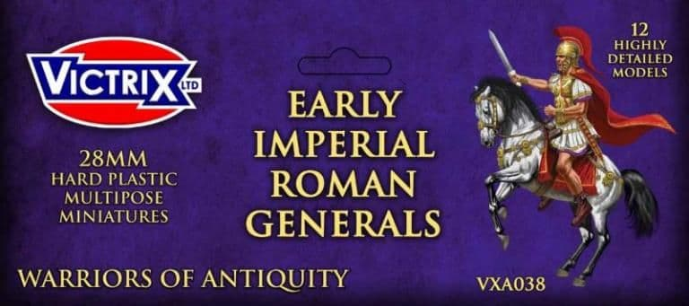 Victrix 28mm Early Imperial Roman Generals # VXA038
