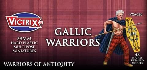 Victrix 28mm Gallic Warriors # VXA030