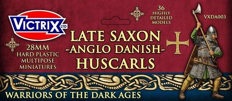 Victrix 28mm Late Saxon -Anglo Danish- Huscarls # VXDA003