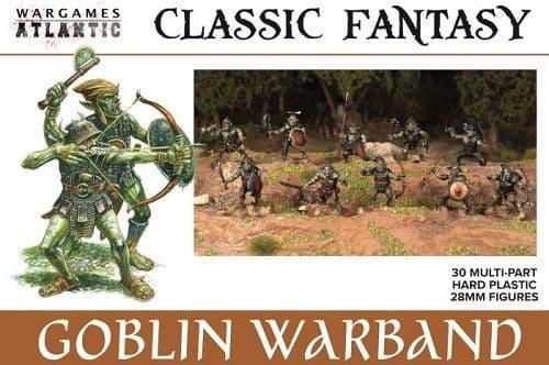 Wargames Atlantic 28mm Classic Fantasy - Goblin Warband # WAACF004
