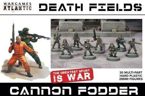 Wargames Atlantic 28mm Death Fields - Cannon Fodder # WAADF005