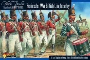 Warlord Games 28mm British Line Infantry (Peninsular War) # 302011003