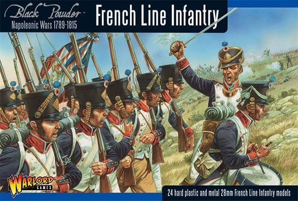 Warlord Games 28mm French Line Infantry (1807-1810) # WGN-FR-09
