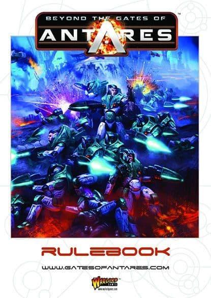 Warlord Games - Beyond the Gates of Antares Rulebook # WGA-01