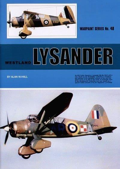 Westland Lysander - By Alan W. Hall