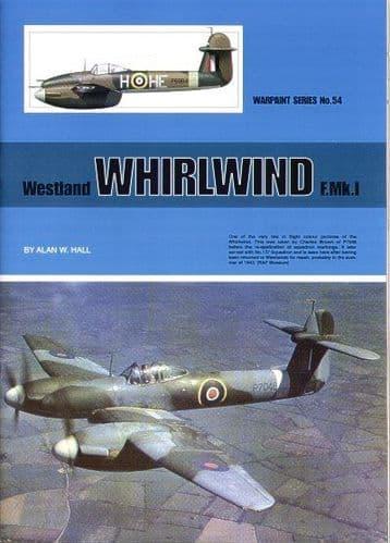 Westland Whirlwind Mk.I Fighter - By Alan W. Hall